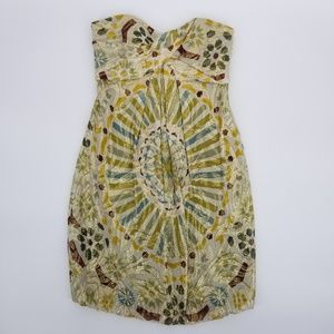 Nicole Miller Collection Boho Chic Strapless Dress